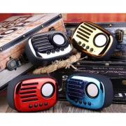 A4 Nostalji Bluetooth Speaker Usb -Kart -Fm