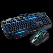 Gaming Keyboard V100 Klavye Mouse Set