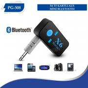 X6 Kartlı Aux Mini Bluetooth